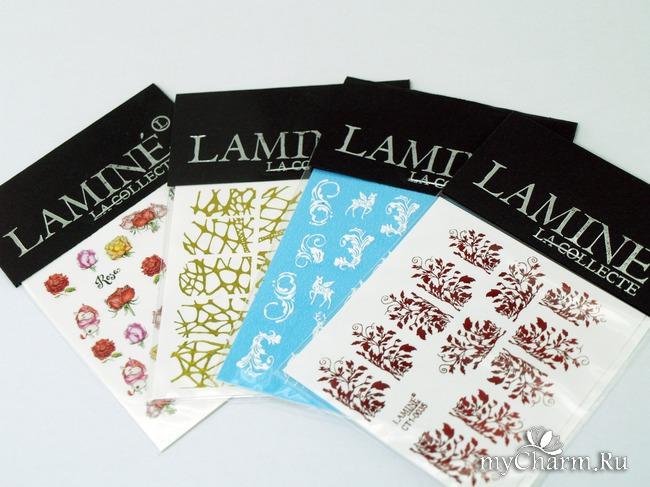 Чудесные слайдеры от бренда Lamine с легкостью украсят ваш маникюр