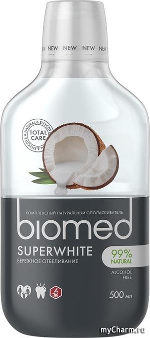 Biomed / Комплексный ополаскиватель для полости рта Superwhite