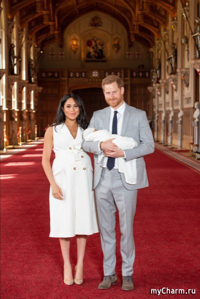 Сын Меган Маркл получил имя Арчи в честь любимого кота герцогини