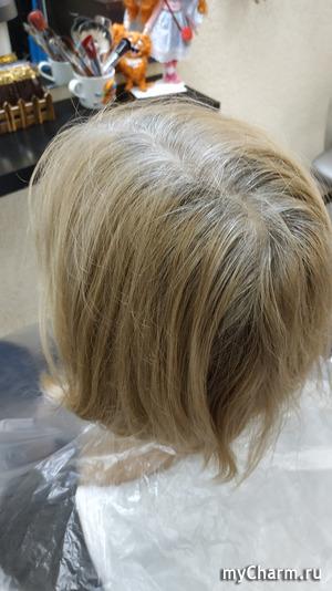Теплый бежевый блонд