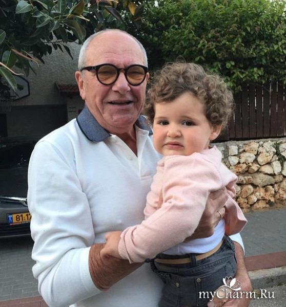Годовалая дочурка Эммануила Виторгана похожа на своего брата?