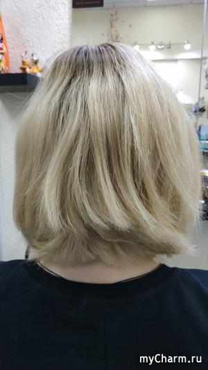 Прощай сильно светленный блонд