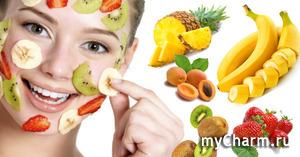 Предлагаю конкурс: маски для лица из продуктов питания.