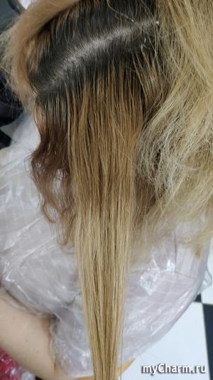 Блонд: выравниваем полотно
