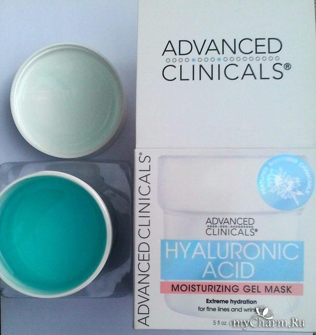 Маска для лица Hyaluronic acid от Advanced Clinicals.