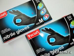 Отличный помощник в хозяйственных делах – нитриловые перчатки Paclan