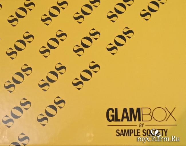 SOS box от Glam box by sample society. Новый лимитированный бьюти-бокс