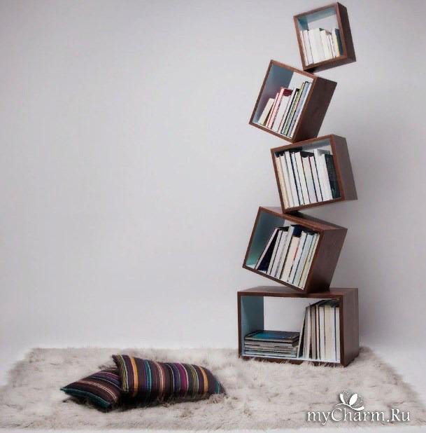 куда поставить книги