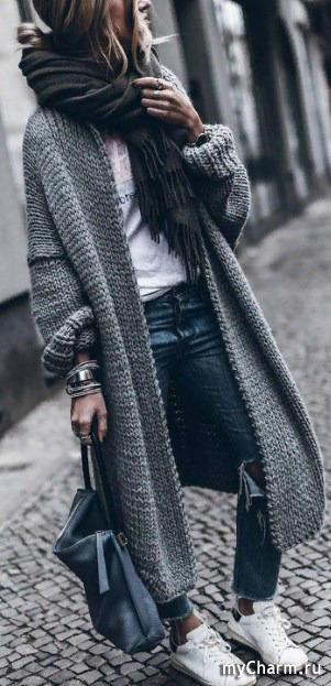 свитер в моде