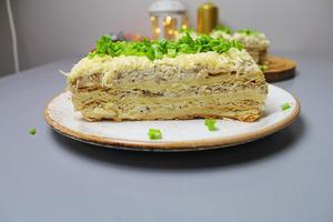 """Закусочный Торт """"Наполеон""""."""