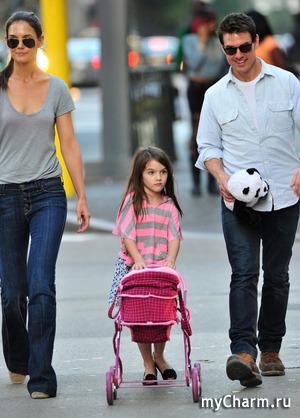 Дочка Тома Круза снискала славу самого избалованного ребенка в Голливуде