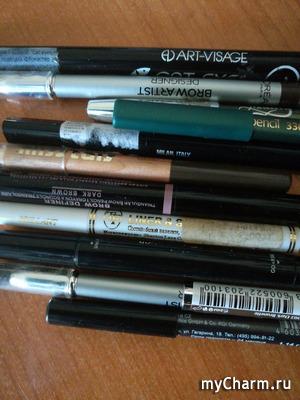 Обзор косметических карандашей