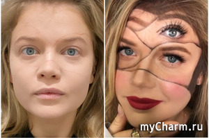 Мария Ивакова шокировала общественность необычным макияжем