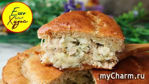Вкуснее и Проще Сложно Найти! Заливной Пирог с Капустой и Курицей по-Быстрому!