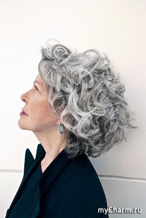 Нужны модели на окрашивание седых волос