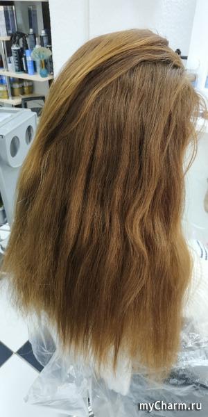 Щадящий способ окрашивания длинных волос