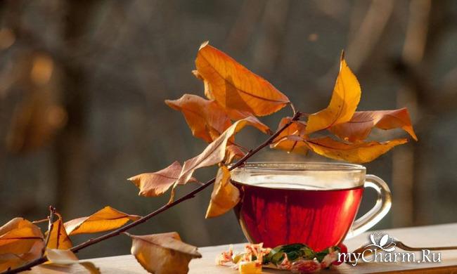 Рецепты осеннего чая...