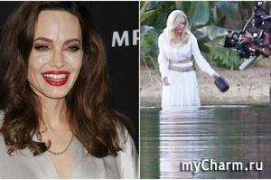 Анджелина Джоли на время стала блондинкой