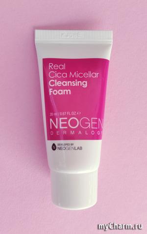 Real Cica Micellar Cleansing foam - пенка для умывания от Neogen Dermalogy