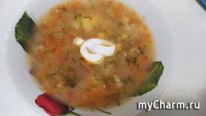 Картофельно-кукурузный супчик
