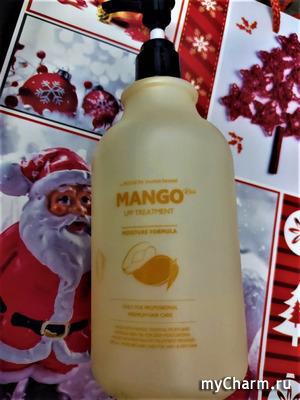Маска для блеска волос с чудесным ароматом манго
