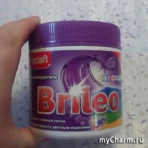 """Пятновыводитель """"Brileo. Oxi color"""" от бренда Paclan: доступная чистота"""