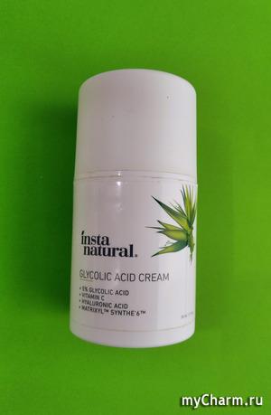 Glycolic acid cream от Insta natural.
