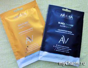 Опыт использования альгинатных масок Aravia