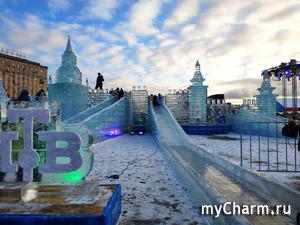 Парк Победы. Ледяная Москва