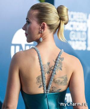 Скарлетт Йоханссон оказалась обладательницей самого сексуального платья на церемонии SAG Awards