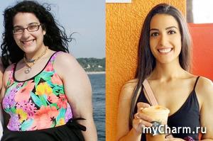 Американка, сбросившая 55 кг, поделилась секретом похудения