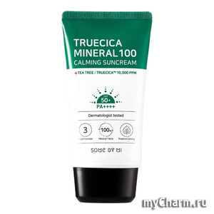 Some by mi / Солнцезащитный крем Truecica mineral 100 Calming Sunscreen
