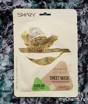 Классная маска с приятным дизайном и эффектом