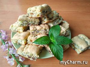 На скорую руку к чаю гора мягкого печенья (без масла)!