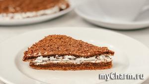 Вкусный торт за 30 минут вместе с выпечкой