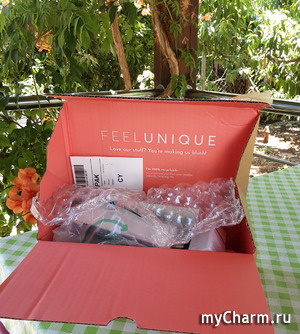 Заказ от Feelunique прибыл.
