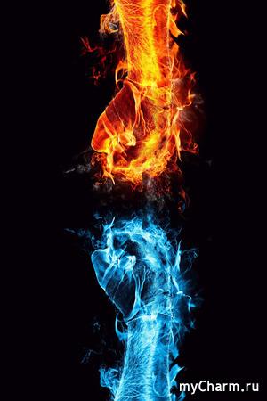 Битва окрашиваний: лед иль пламя?