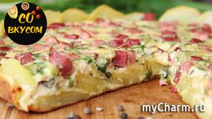 Гениальное Блюдо, Съедается в Миг! Настоящая Вкуснятина из Картошки. Пицца-пирог