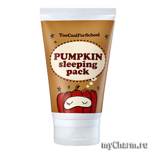 Too Cool For School / Ночная маска Pumpkin sleeping pack Enzyme Peeling+Pumpkin Nutrition