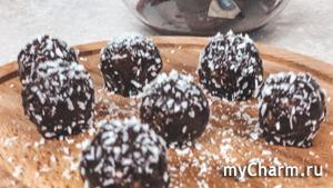 Простой рецепт домашних конфет | Конфеты из кокосовой стружки | Конфеты Баунти