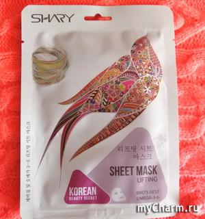 Лифтинг-маска с экстрактом ласточкиного гнезда и Омега 3-6