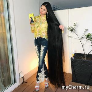 «Японская Рапунцель» сумела отрастить волосы почти в два метра длиной
