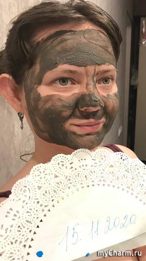 Селфи в маске, (забег 6) Lastohka16-11 — Barhat Маска для лица очищающая «Detox Mask»
