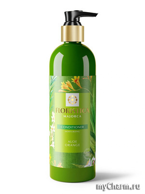 FLORISTICA / Кондиционер для волос MAJORCA Conditioner moisturizing Aloe Orange