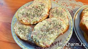 Бутерброды с яйцом и соленым огурцом. Видео рецепт