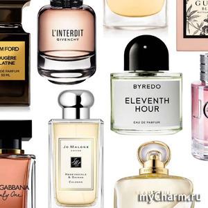 Новинки парфюмерии 2020