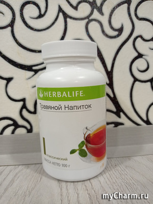 Травяной напиток от Herbalife для энергии и бодрости