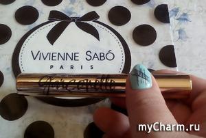 Выразительный взгляд с тушью Garconette от Vivienne Sabo