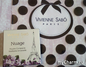 Компактная пудра Nuage: прозрачная эффективность