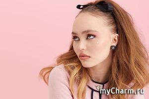 Лили-Роуз Депп снялась для российской версии журнала Elle